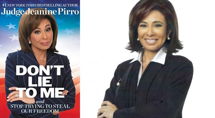 Don't Lie to Me by Jeanine Pirro