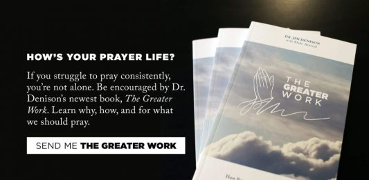 The Greater Work by Jim Denison