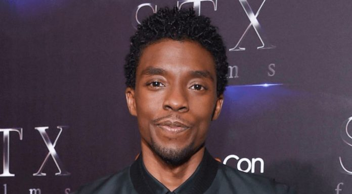 Chadwick Boseman at the STX Films