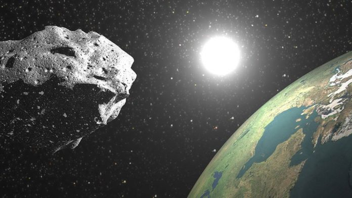 An asteroid just missed our planet