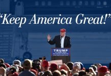 Kepp America Great with Donald Trump