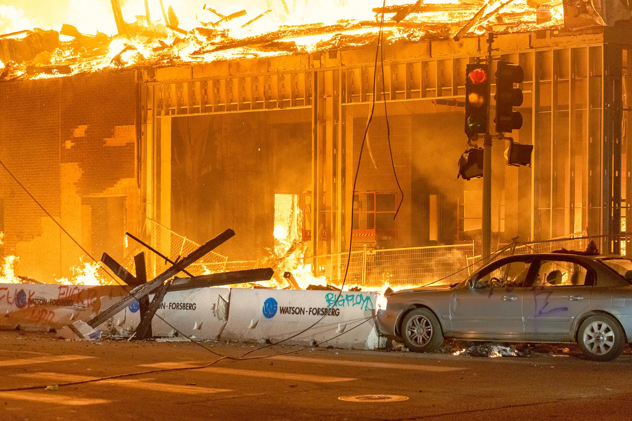 Democrat Run American Cities are Burning