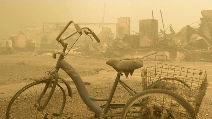Trike in Detroit, Oregon on Sept. 11, 2020