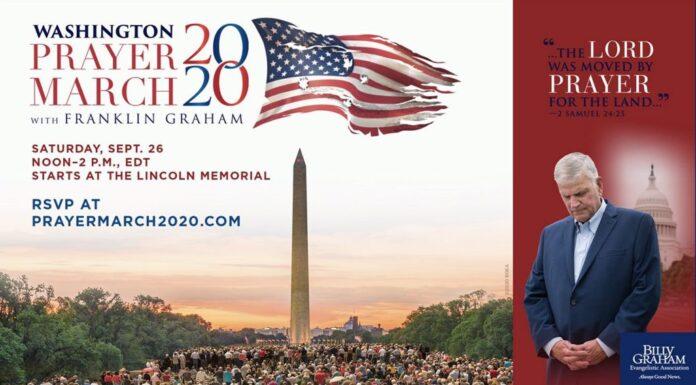 Washington Prayer March 2020