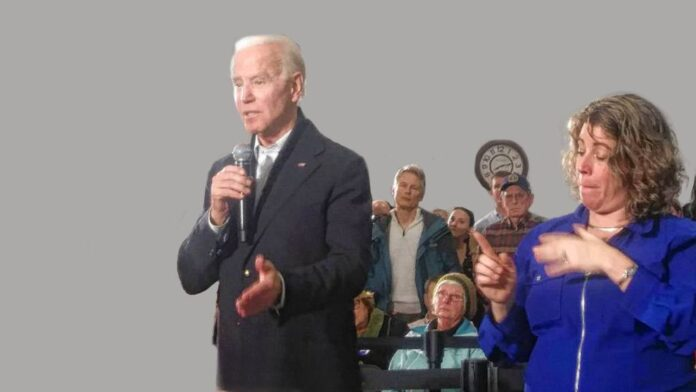 Biden Sign Interpreter