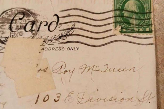 100-Year-Old Halloween Themed Postcard