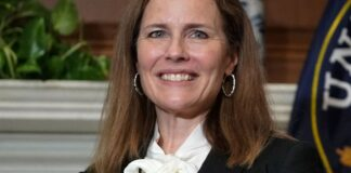Judge Amy Coney Barrett, President Donald Trump's nominee for the U.S. Supreme Court,