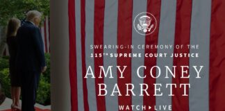 Swearing-In Ceremony for Amy Coney Barrett
