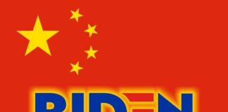 Biden Chinese Flag