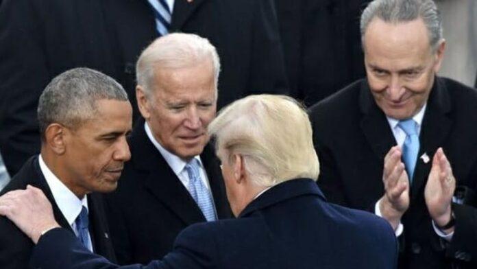 Obama Biden Trump and Schumer
