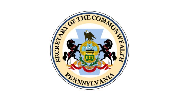 Seal of the Secretary of the Commonwealth of Pennsylvania