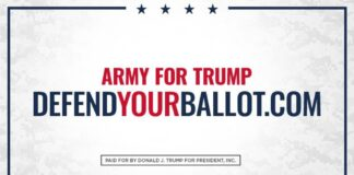 Army For Trump: Defend Your Ballot