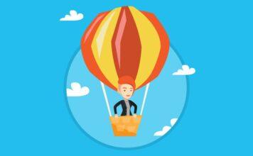 Democrat in Hot Air Balloon