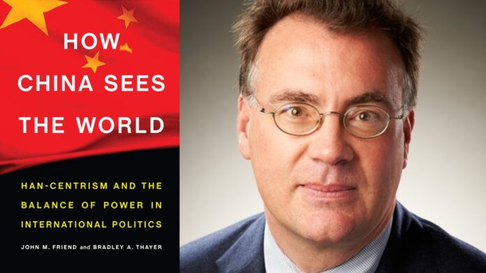 How China Sees The World By Friend and Thayer
