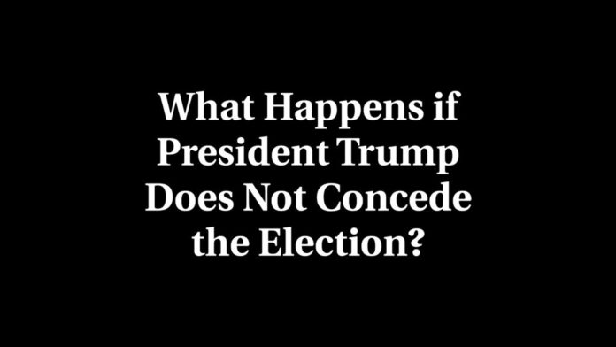 What if Trump does not concede?