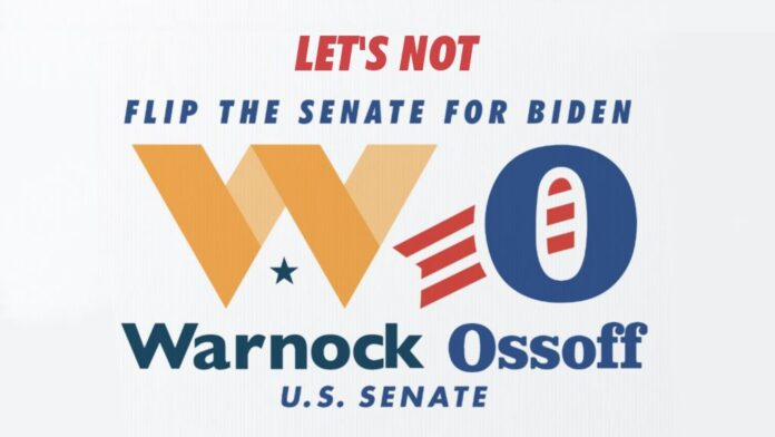 Let's not Flip the Senate For Biden by voting for Warnock Ossoff for U.S. Senate