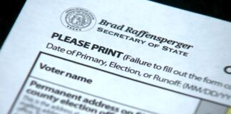 Absentee Ballots from Georgia