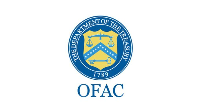 The Department of the Treasury OFAC