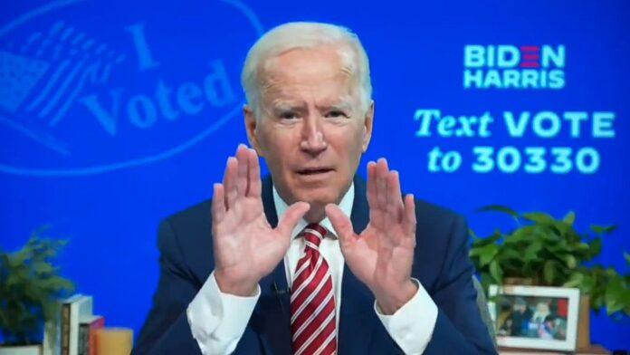 "Biden interview on Crooked Media's ""Pod Save America."""