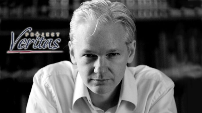 Julian Assange and Project Veritas