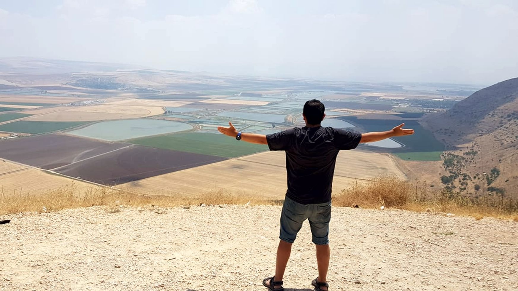 Justin Amler in Israel