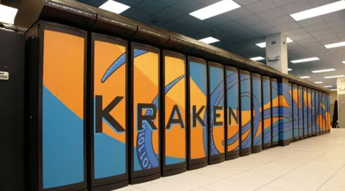 The University of Tennessee's supercomputer, Kraken