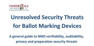 Unresolved Security Threats for Ballot Marking Devices