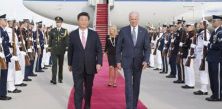 Xi Jinping and Joe Biden