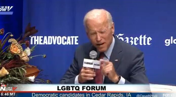 Biden says, male convicts that identify as female will be housed with women