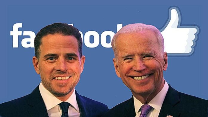 Hunter & Joe Biden Facebook