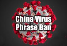 China Virus Phrase Ban