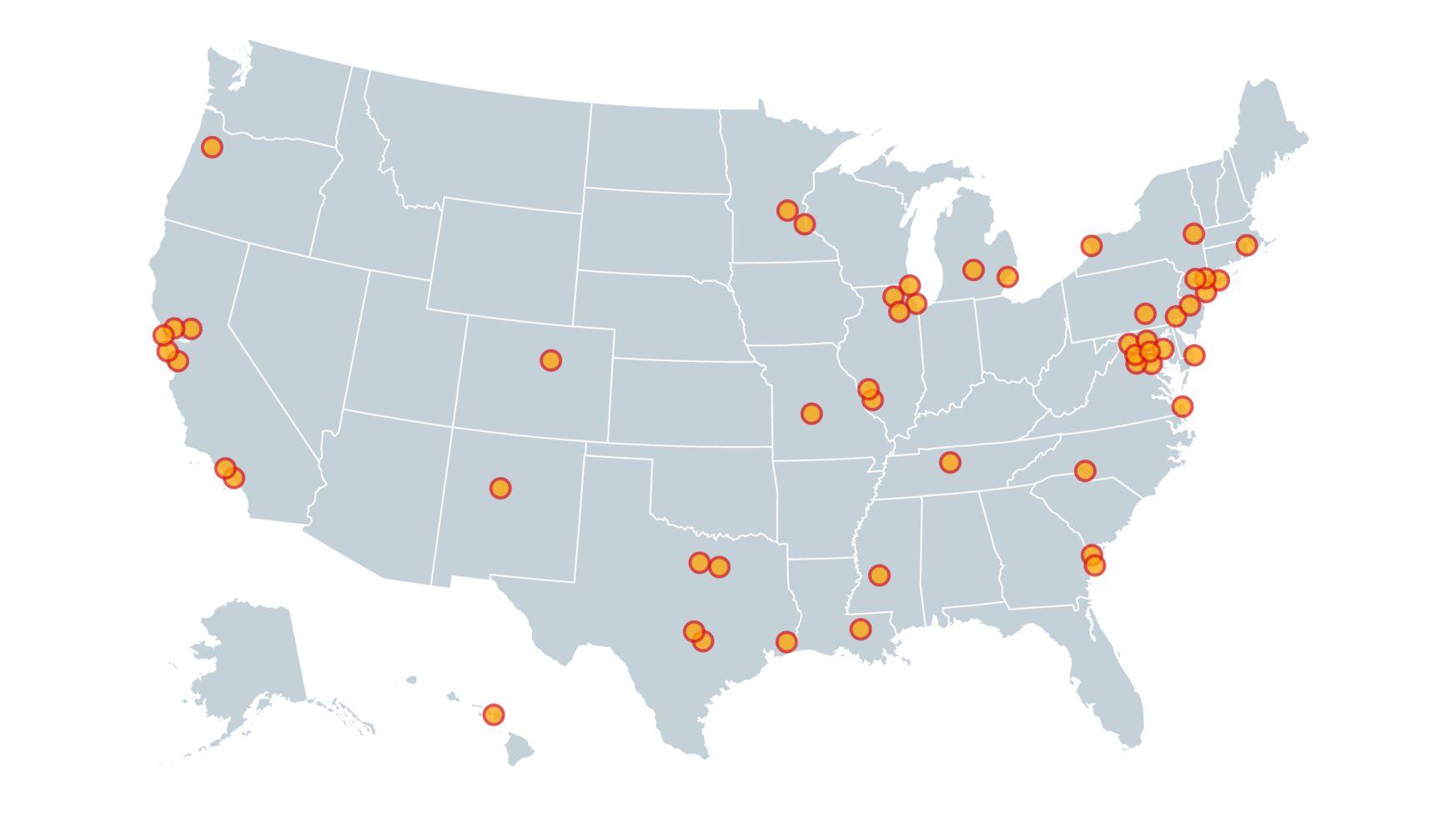 COVID Hypocrisy Map