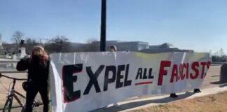 Expel All Fascist- Black Lives Matter March Washington DC 01-13-2021