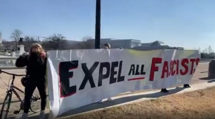 Expel All Fascist- Black Lives Matter March Washington DC 01-13-2021