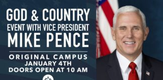 God & Country Event with Vice President Mike Pence