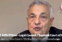 Prof. Alfio D'Urso Legal Counsel testifies at the Supreme Court of Italy
