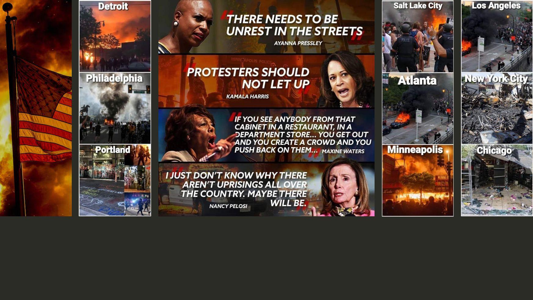 Liberal Democrats inciting violence