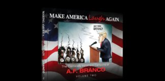Make America Laugh Again by A.F. Branco