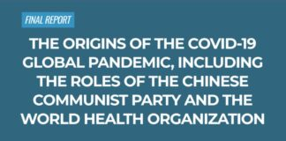 The Origins Of The Covid-19 Global Pandemic, Including The Roles Of The Chinese Communist Party And The World Health Organization