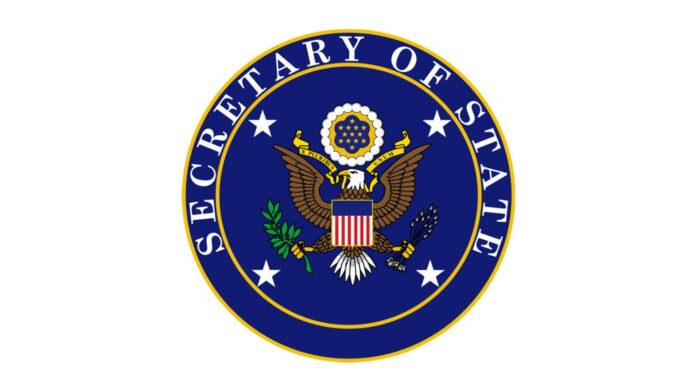 Seal of the Secretary of State of the United States of America