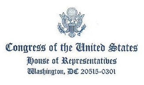 Congress of the United States House of Representatives
