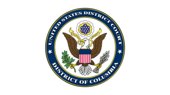 United States District Court District of Columbia