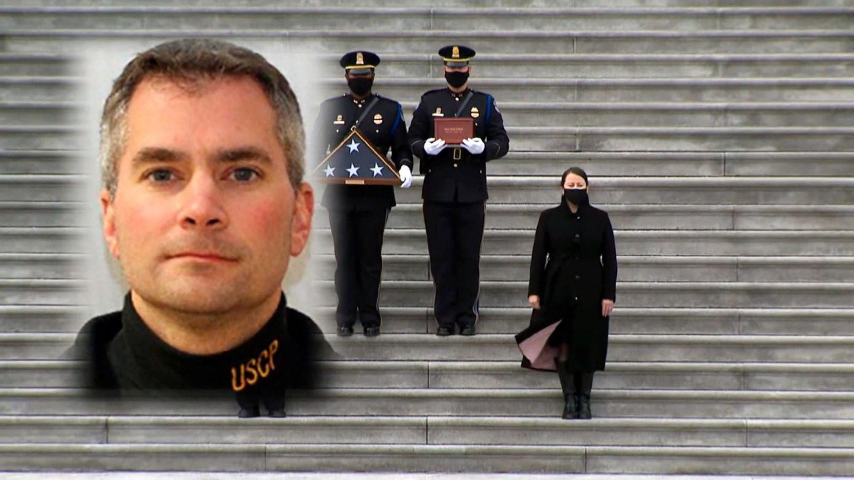 Brian Sicknick Honor in U.S. Capitol Rotunda