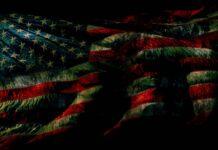 American Flag Dark