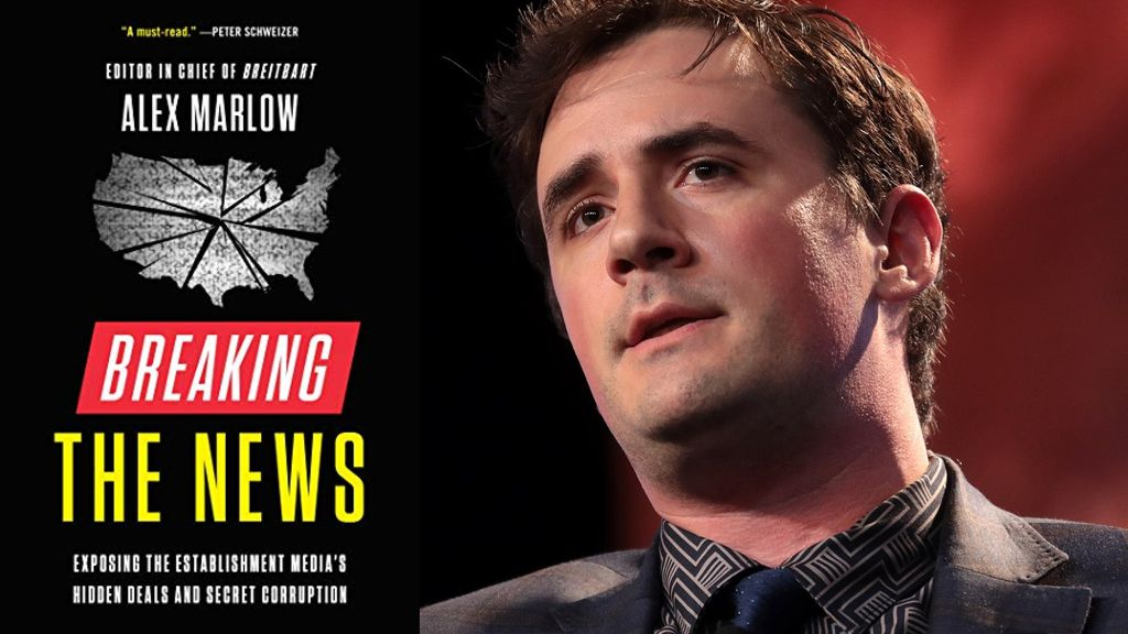 Breaking The News by Alex Marlow