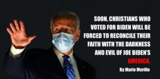 Christians how voted for Joe Biden
