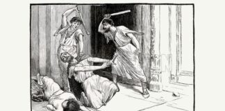 The death of Tiberius Gracchus