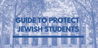 Guide To Protect Jewish Students Report