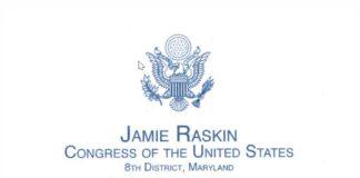 Jamie Raskin Congress of the United States