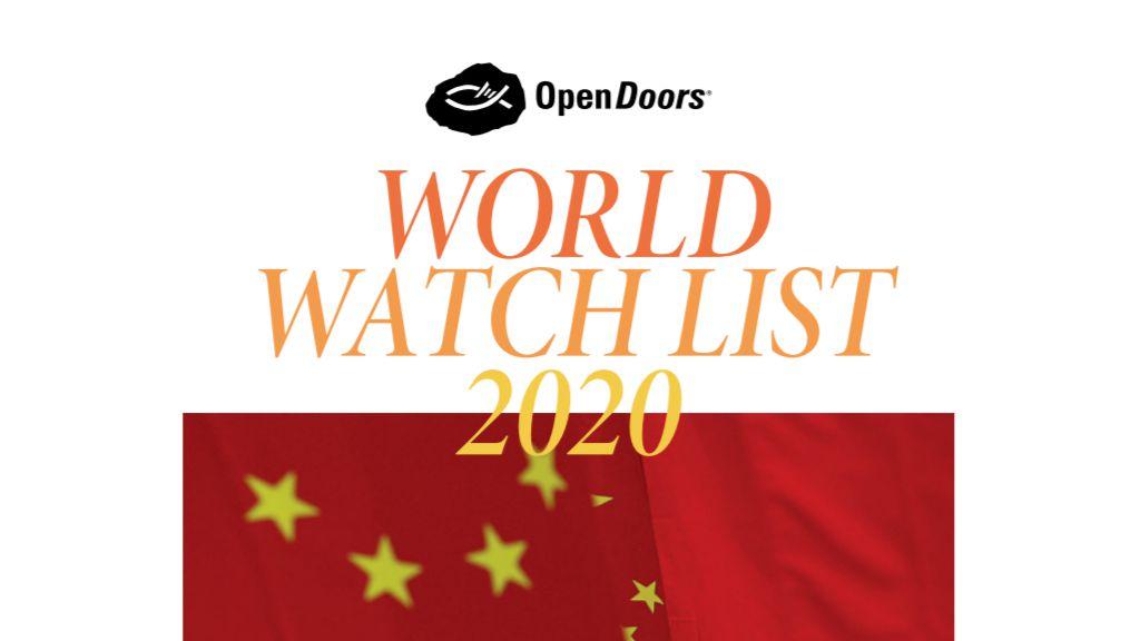 Open Doors World Watch List 2020